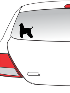 Collie Car Decal