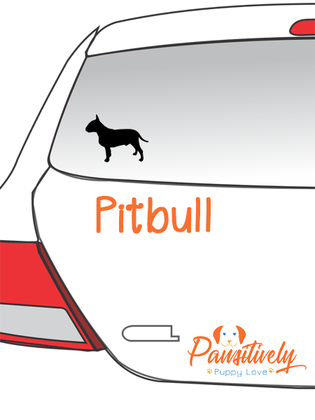 Bull Terrier Car Decal
