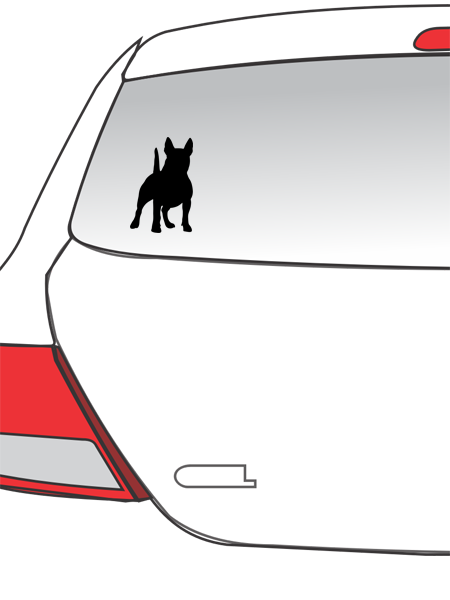 Terrier Car Decal