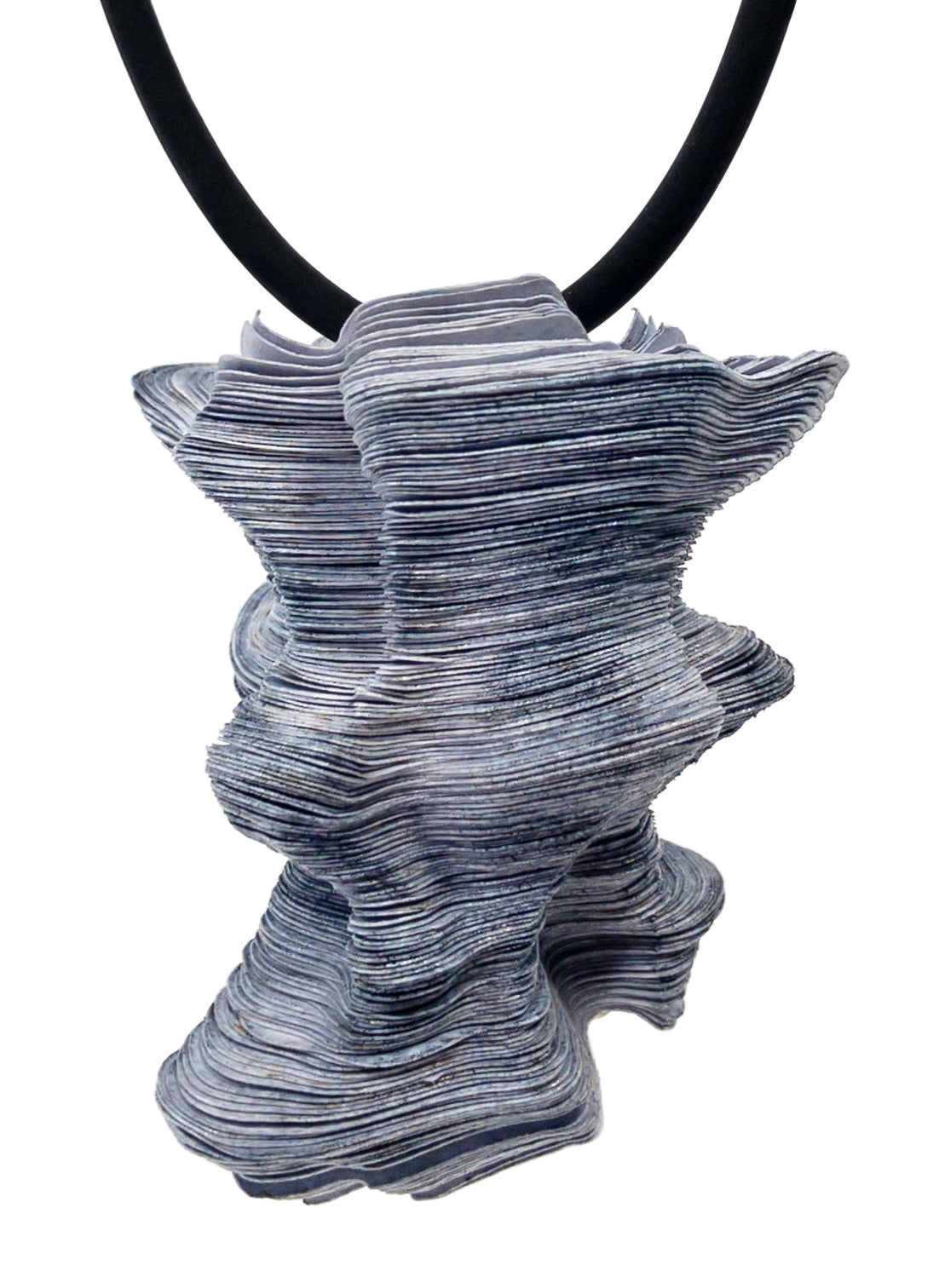 Tyvek Paper Pendant: Hoodoos and Sea Stacks