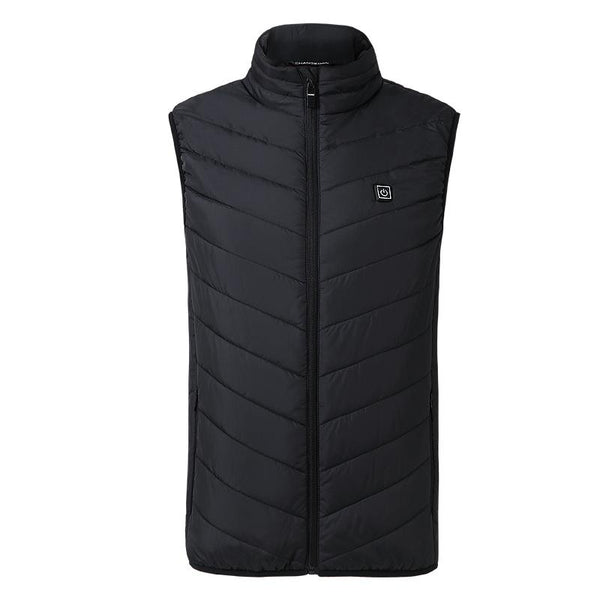 Electric Heated Vest Thermal Warm Jacket Unisex