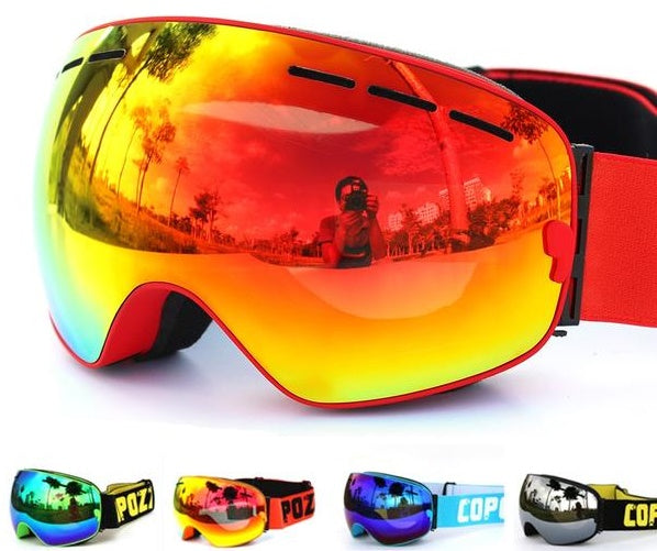 Ski Goggles Double Layers UV400