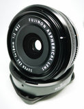 NEVER USED Fujinon XF 18mm F2 R Lens WITH WARRANTY (NO DATE STAMP)