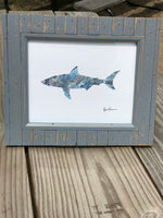 The Shark Art Print