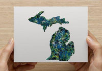 The Michigan Note Card