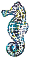 Blue Sea Horse Sticker