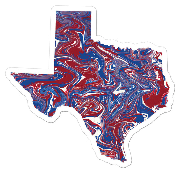 The Texas Art Sticker
