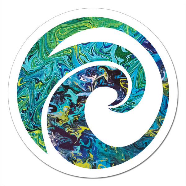 The Wave Art Sticker
