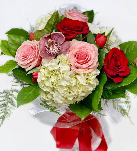 Valentine Mix Hand-Tied Bouquet
