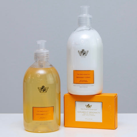 Luxury Soap & Body Lotion Trio