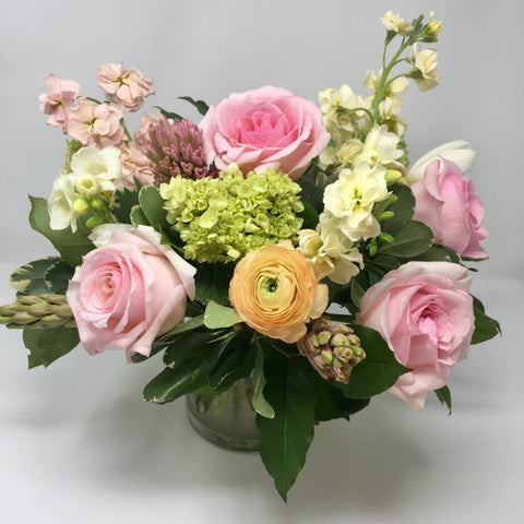Spring Centerpiece Vase Arrangement