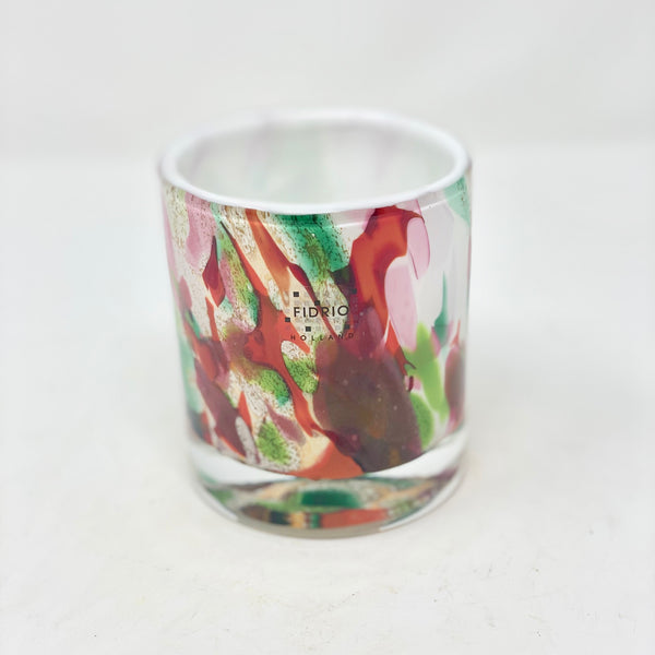 Fidrio Vase Colourful Cylinder Small