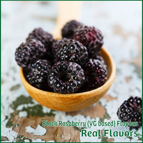 Black Raspberry VG Flavour- Real Flavors - Flavour Fog - Canada's flavour depot.