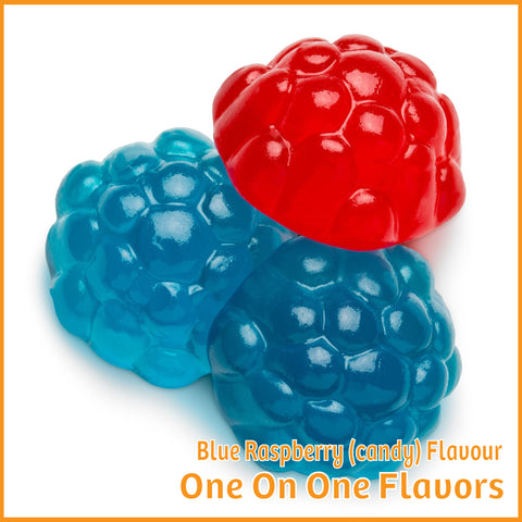 Blue Raspberry (Candy) Flavour- One On One Flavors - Flavour Fog - Canada's flavour depot.