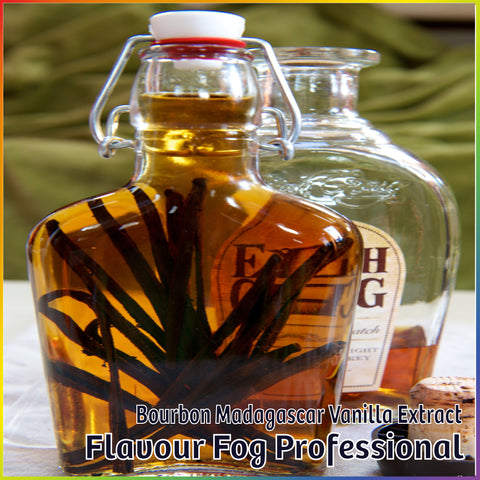 Bourbon Madagascar Vanilla Extract - FF Pro - Flavour Fog - Canada's flavour depot.