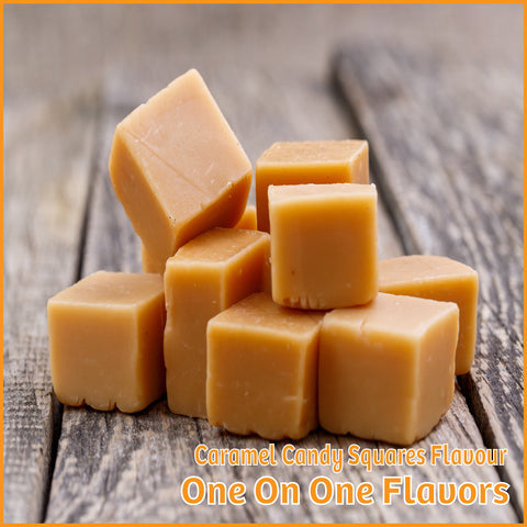 Caramel Candy Squares Flavour- One On One Flavors - Flavour Fog - Canada's flavour depot.