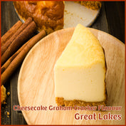Cheesecake Graham Cracker Flavour - Great Lakes - Flavour Fog - Canada's flavour depot.