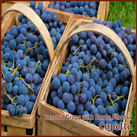 Concord Grape with Stevia Flavour - Capella - Flavour Fog - Canada's flavour depot.