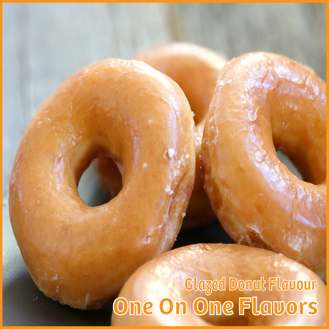 Glazed Donut Flavour- One On One Flavors - Flavour Fog - Canada's flavour depot.