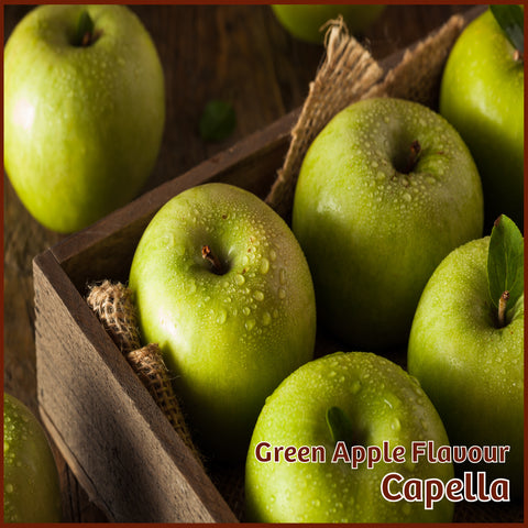 Green Apple Flavour - Capella - Flavour Fog - Canada's flavour depot.
