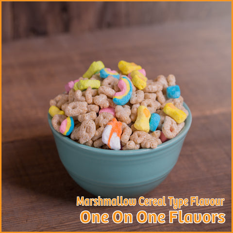 Marshmallow Cereal Type Flavour- One On One Flavors - Flavour Fog - Canada's flavour depot.