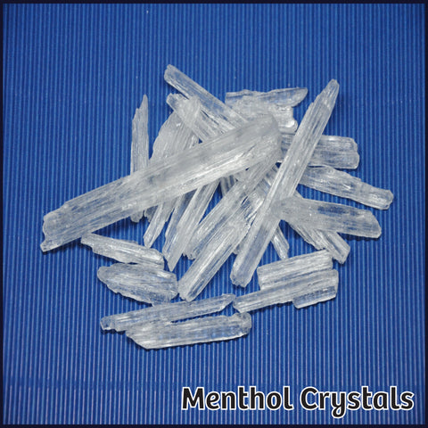 Menthol Crystals - Flavour Fog - Canada's flavour depot.