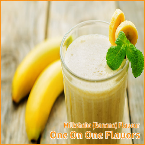 Milkshake (Banana) Flavour- One On One Flavors - Flavour Fog - Canada's flavour depot.