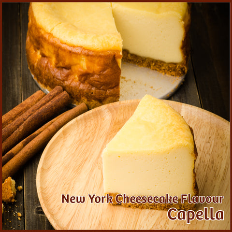 New York Cheesecake Flavour - Capella - Flavour Fog - Canada's flavour depot.