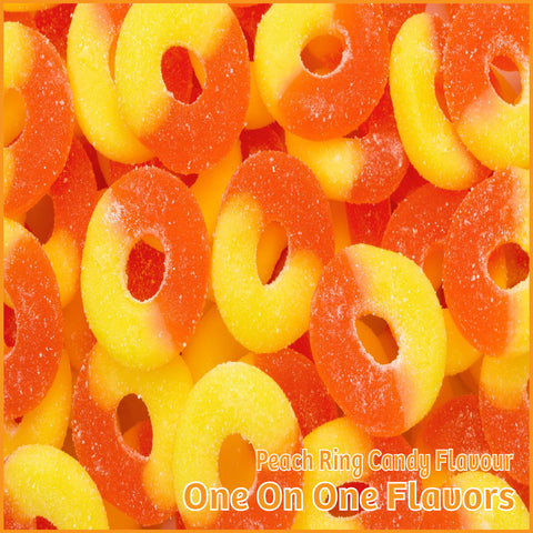 Peach Ring Candy Flavour- One On One Flavors - Flavour Fog - Canada's flavour depot.