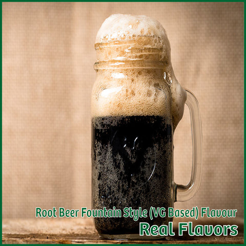 Root Beer Fountain Style VG Flavour- Real Flavors - Flavour Fog - Canada's flavour depot.