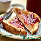 Strawberry Jam W Toast Super Concentrate Flavour - Real Flavors - Flavour Fog - Canada's flavour depot.