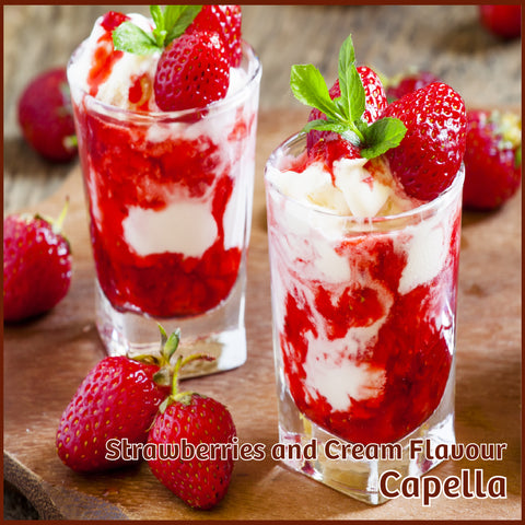 Strawberries & Cream Flavour - Capella - Flavour Fog - Canada's flavour depot.