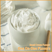 Sweet Cream Flavour- One On One Flavors - Flavour Fog - Canada's flavour depot.