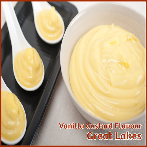 Vanilla Custard V1 Flavour - Great Lakes - Flavour Fog - Canada's flavour depot.