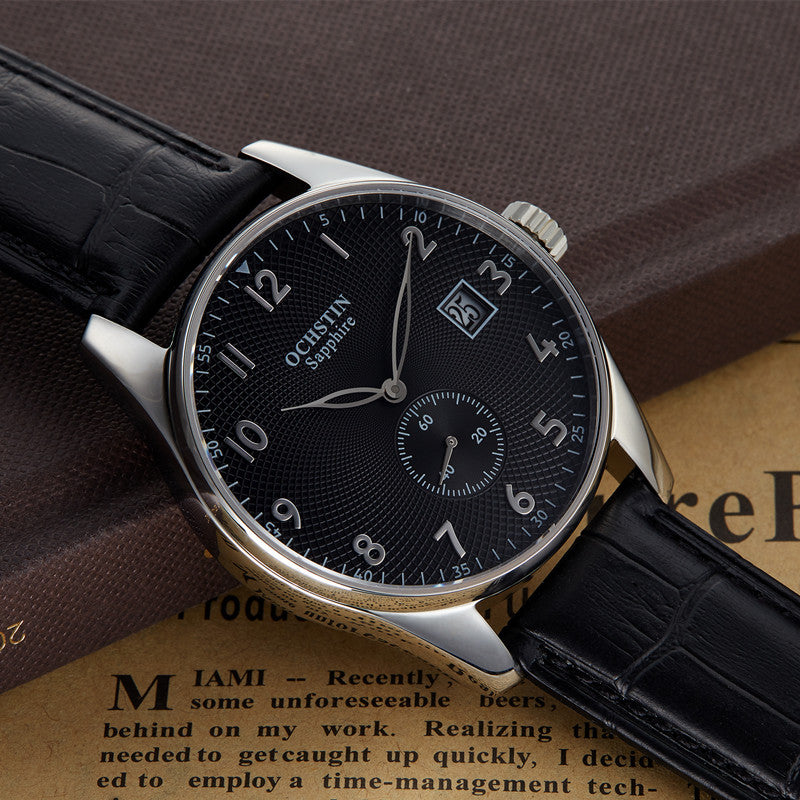 WW1018 Ochstin Leather Belt Date Watch