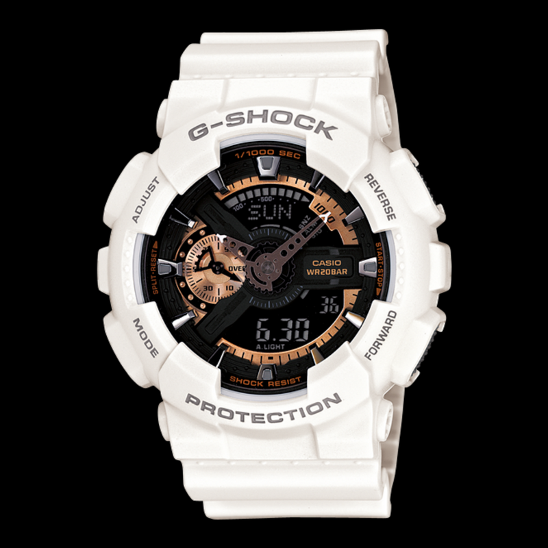 WW1204 Casio G-Shock Sports Fiber Belt Watch GA-110RG-7A