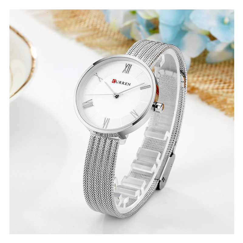 WW0202 Curren Ladies Mesh Chain Watch