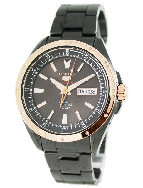 WW0775 Seiko 5 Sports Automatic Chain Watch SRP162K1