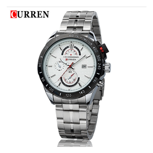 WW0277 Curren Date Chain Watch