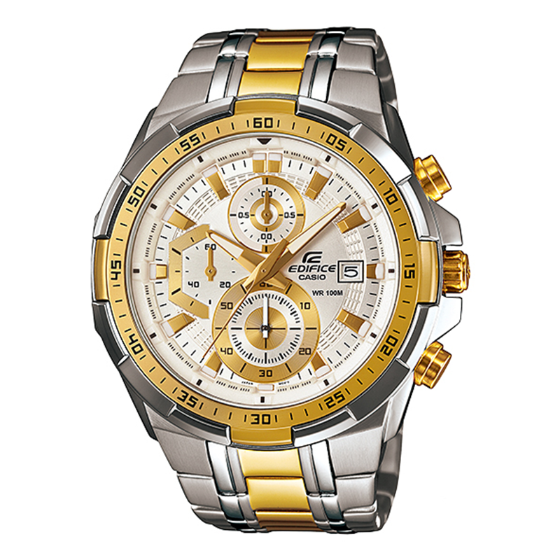 WW0664 Casio Edifice Chronograph Stainless Steel Chain Watch EFR-539SG-7V