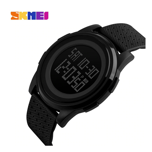 WW0545 SKMEI Dual Time Digital Fiber Belt Watch 1206