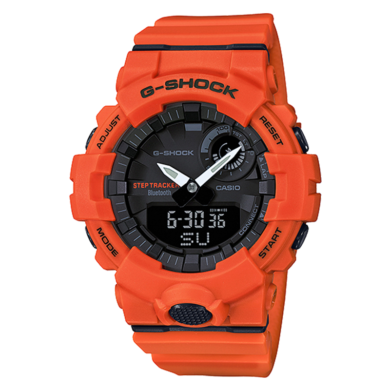WW0168 Casio G-Shock G-Squad Step Tracker Bluetooth Sports Watch GBA-800-4A
