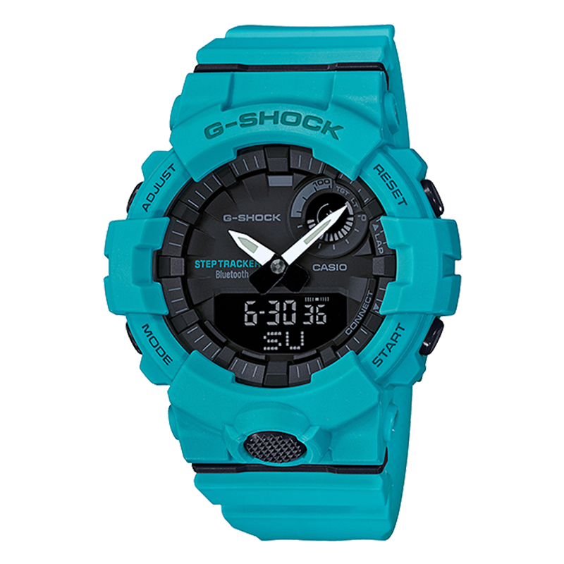 WW0166 Casio G-Shock G-Squad Step Tracker Bluetooth Sports Watch GBA-800-2A2V