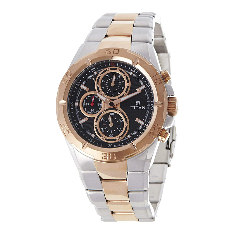 WW0297 Titan Octane Chronograph Chain Watch 9308KDA