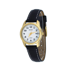 WW0948 Seiko Date Leather Belt Watch SXDE78P1