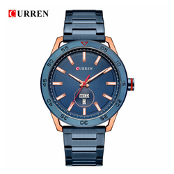 WW0555 Curren Day Date Chain Watch