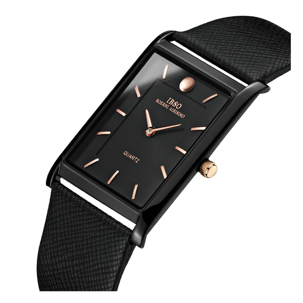 WW0273 IBSO Slim Leather Belt Watch