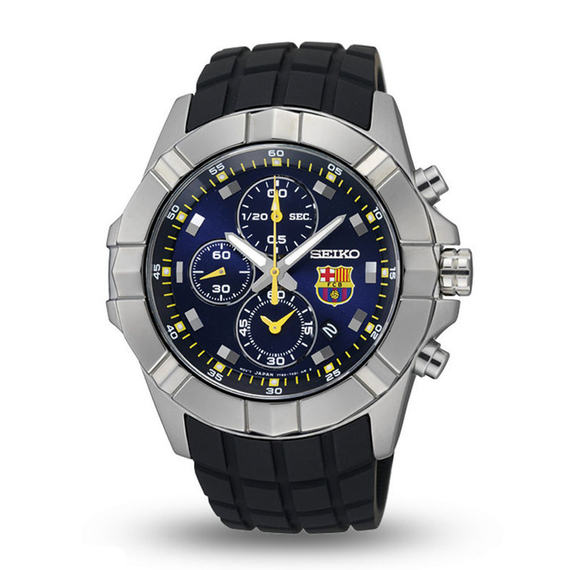 WW0814 Seiko Chronograph FC Barcelona Edition Belt Watch SNDD81P1