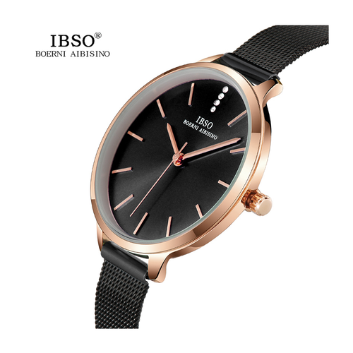 WW0074 IBSO Ladies Mesh Chain Watch