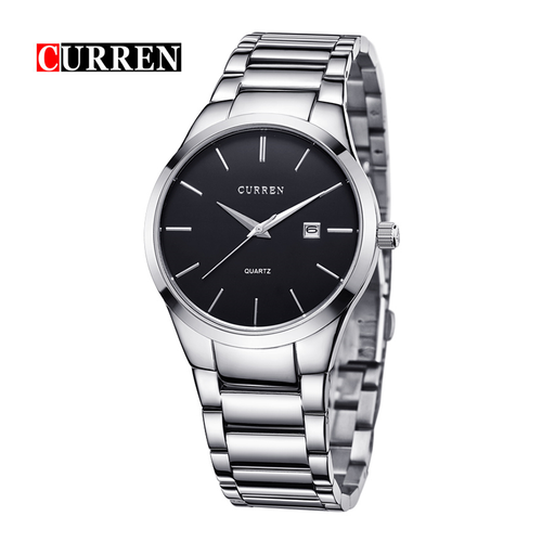 WW0660 Curren Date Chain Watch